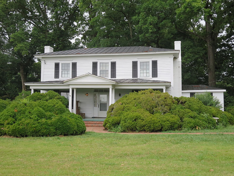 Hillman Barnes House – STRUCTURE ONLY